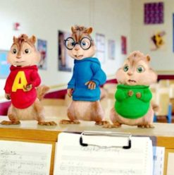 Alvin and the Chipmunks:The Squeakquel: Chipmunks At It Again