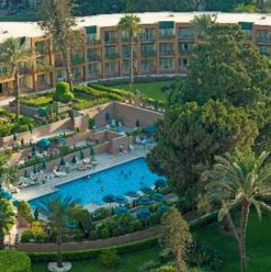 WIN! A Night for Two at the Cairo Marriott Hotel  & Omar Khayam Casino