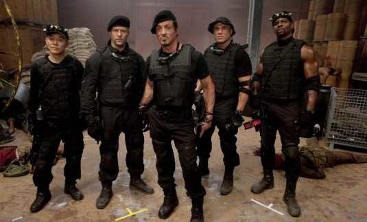 The Expendables: A Shot of Testosterone