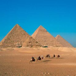 The Great Pyramids of Giza: Egypt's Seventh Wonder of the Ancient World