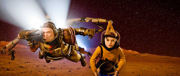 Mars Needs Moms: Weak 3D Kids' Animation