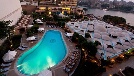Conrad Cairo Hotel: Nice but Pricey Pool Day Use in Cairo