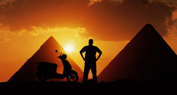 Cross Egypt Challenge: A 1700km Scooter Ride Through Egypt