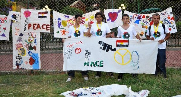 'Cairo, The Peace Village': Celebrating International Peace Day in Cairo