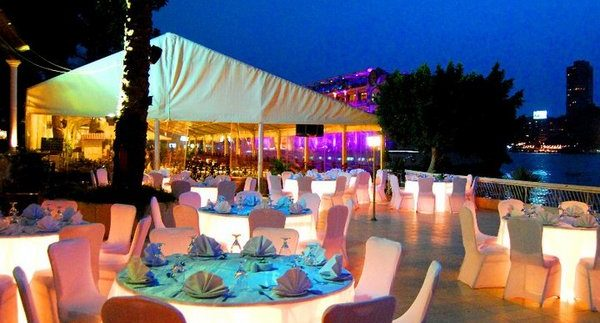 Andalusia: Mediocre Nile-view Dining on the Manial Corniche