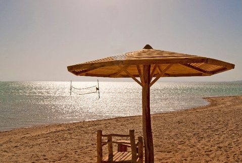 Orange Bay: Beautiful Secluded Red Sea Island near Hurghada