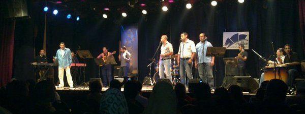 """حفل فرقة """"شوية فن"""" في ساقية الصاوي"""