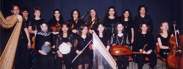 فرقة بنات النيل للموسيقى والغناء في دار أوبرا القاهرة