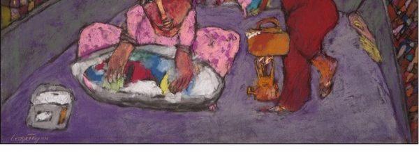 معرض الفنان/ جورج فكري إبراهيم في قاعة الزمالك للفن