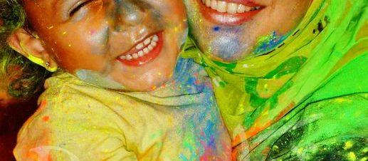 مهرجان الألوان للأطفال والسيدات فقط في كايرو آرت فيلدج