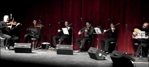 حفل فرقة قيثارة في دار أوبرا القاهرة