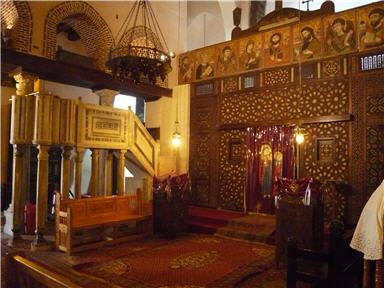 كنيسة القديسة بربارة: جولة مشوقة في حصن بابليون