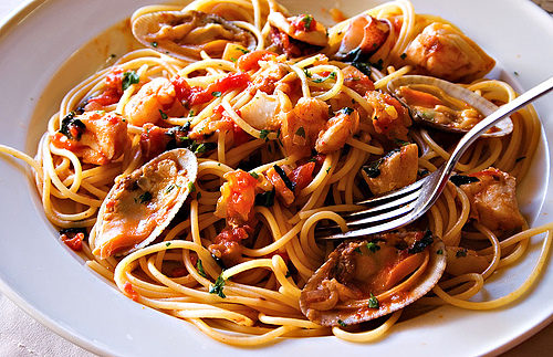 Pomodoro: Possibly the Best Seafood Pasta in Downtown Cairo