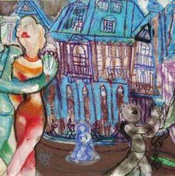 Zamalek Art Gallery: 'Paris' by Farghali Abdel Hafez