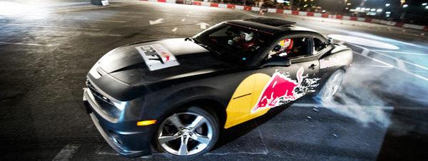 """أكشن سيارات 2012 من """"ريد بول"""" في إستاد القاهرة الدولي"""