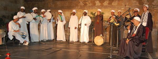 حفل فرقة الطبول النوبية والآلات الشعبية في قبة الغوري