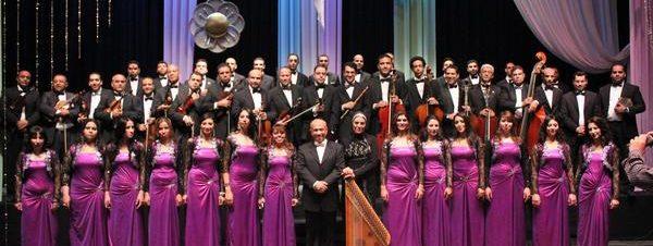 حفل أوركسترا الحجرة لأوبرا الإسكندرية في دار الأوبر المصرية