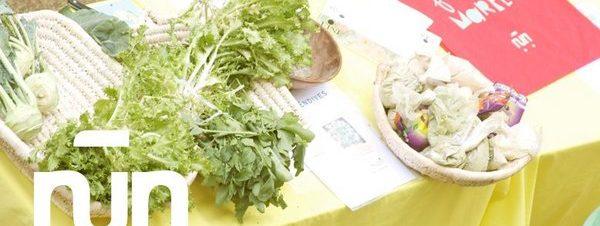 سوق المزارعين في مركز نن