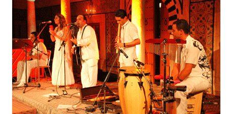 موسيقى تقليدية من تركيا في قصر الأمير طاز