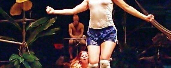 هنا/ بعد ذالك أو هير/أفتر لكونستانزا ماكرس في مسرح الفلكي