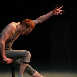 """عرض راقص لـ""""Benjamin Lamarche"""" & Claude Brumachon"""" بمسرح الجمهورية"""