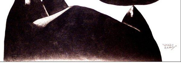 الرسم لمصطفى عبد المعطي في قاعة الزمالك للفن