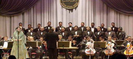 حفل فرقة الإنشاد الدينى بمعهد الموسيقى العربية