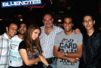 حفل فرقة Bluenotes بساقية الصاوي
