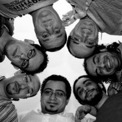 حفل فرقة نغم مصري في مسرح الجنينة