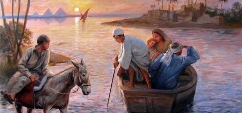 العائلة المقدسة في مصر في قاعة بيكاسو للفنون