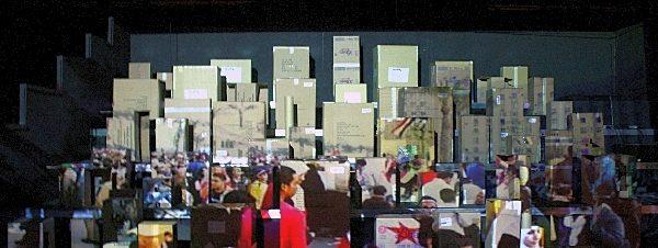 معرض القطع المفقودة لكريم بكري في جاليري المشربية