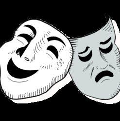 عرض مسرحية كابوس كومبارس بساحة روابط