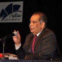صالون يوسف زيدان بساقية الصاوي