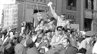 الاحتفال بثورة يوليو بساقية الصاوي