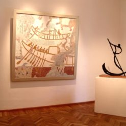 Zamalek Art Gallery: Masterpieces X Collective Exhibition
