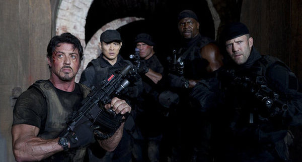 The Expendables 2: Pure Onscreen Testosterone