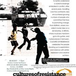 عرض فيلم ثقافات المقاومة بتاون هاوس جاليري