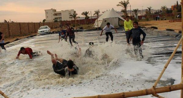 سمارت كامب: تزلج على الرمال وكرة قدم فى ملعب صابون في طريق مصر إسماعيلية الصحراوي