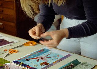 ورشة كولاج أو فن القص واللصق في بيكيا المعادي