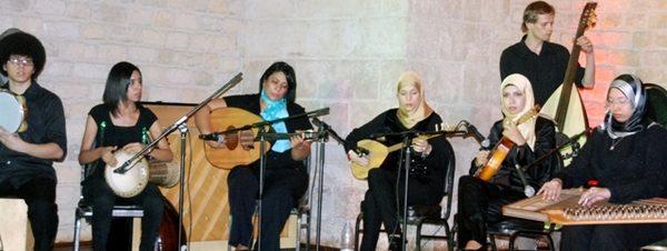 حفل عازفات بيت العود فرقة بنات بساقية الصاوي