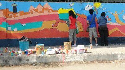 مهرجان فنون الشارع في الدقي