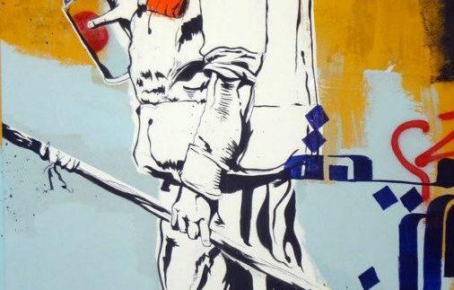 """جاليرى سفر خان للفنون: """"الفيروس ينتشر"""" معرض لـ """"جنزير"""""""