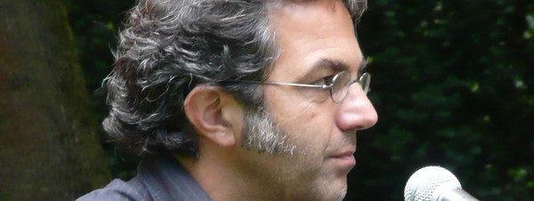نافيد كرماني وجوردون كرمار في معهد جوته
