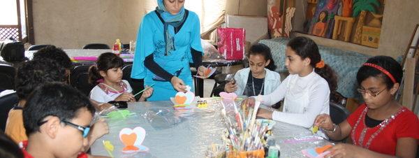 عرض مسرحي ومعرض فني في ختام النشاط الصيفي لمركز إبداع قصر الأمير طاز