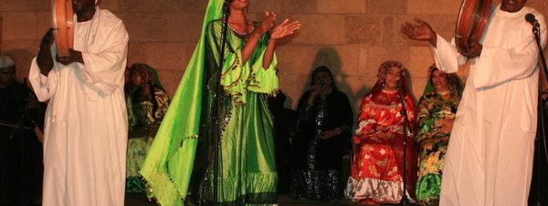 حفل فرقة النيل للآلات الشعبية للاحتفال بـ 6 أكتوبر في بيت السحيمي