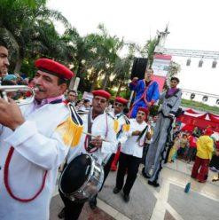 مهرجان سيركايرو: عروض السيرك في ستاد شبين الكوم