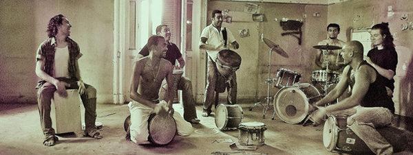 حفل فريق بركشن شو في ساقية الصاوي
