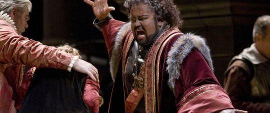 عرض Verdi's Otello  بث مباشر في دار أوبرا القاهرة