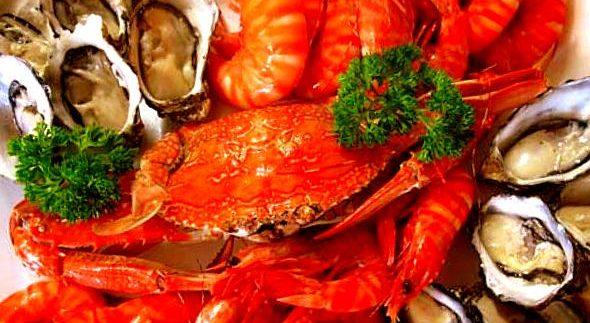 Seasons: Wednesday Night Seafood Buffet in Giza