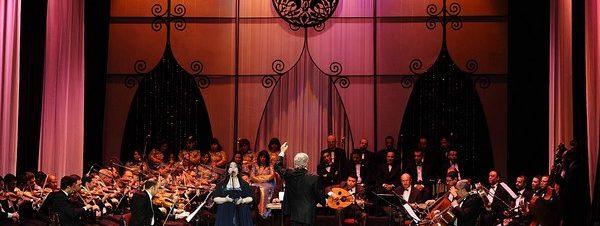 الفرقة القومية للموسيقى العربية على مسرح الجمهورية